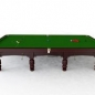 Preview: BCE Westbury Mahogony Finish Full Size Steel Block Snooker Table (12ft 365cm)