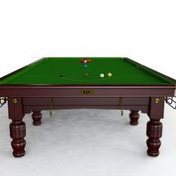BCE Westbury Mahogony Finish Full Size Steel Block Snooker Table (12ft 365cm)