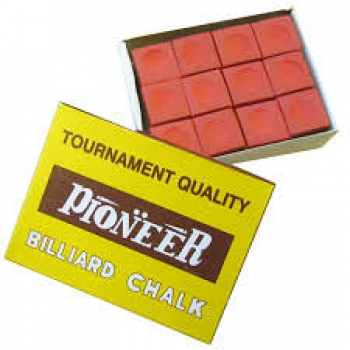 Pioneer Chalk Red Box of 12