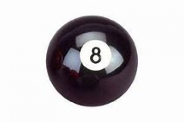 Aramith Individual Pool Ball Nr.8 Black 37.5mm