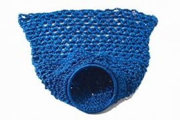Blue Coloured Nylon Ring Nets for up to 52.5mm Balls (set of 6)
