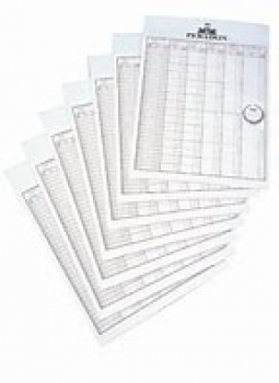 Handicap Turnierblatt (10 pack)
