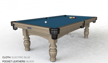 Riley Aristocrat Solid Limed Oak Finish 8ft American Pool Table (8ft  243cm)