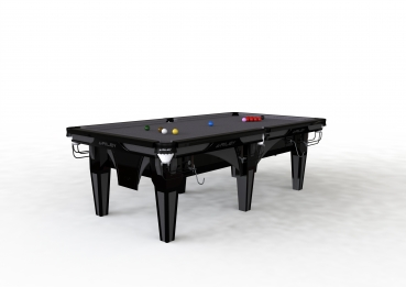 Riley Ray Black Finish 8ft Standard Cushion Snooker Table (8ft  243cm)