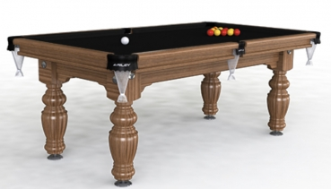 Riley Aristocrat Solid  Walnut 7ft UK 8 Ball Pool Table (7ft  213cm)