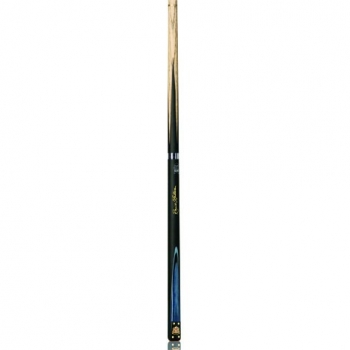 2 PIECE ASH SNOOKER CUE WITH MATCHING GRAIN AND WAC