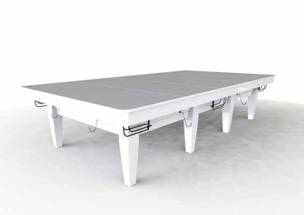 Riley Grand Gloss White Finish Banquet Top for 9ft Russian Pyramid Tables (9ft 274cm)