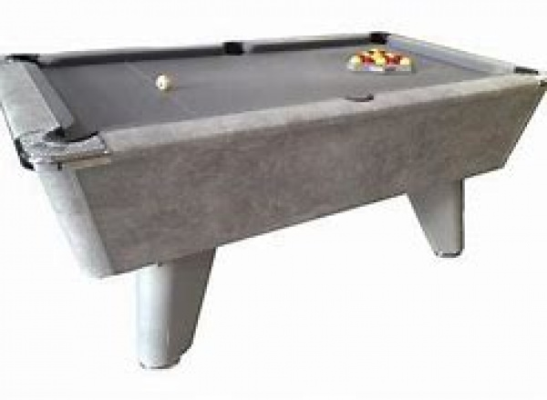Italiano Grey Finish Freeplay Winner Uk 8 Ball Pool Table 6ft (182cm)
