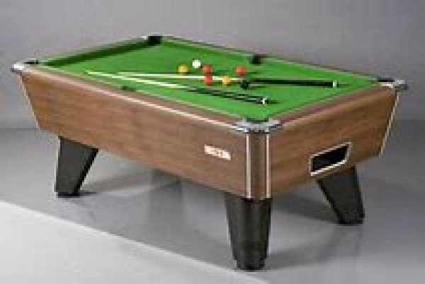 Nussbaum Finish Freeplay Prince Uk 8 Ball Billardtisch 7ft (213cm)