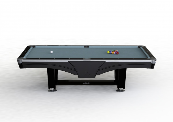 Riley Ray Tournament Series Black Finish 8ft American Pool Table (8ft  243cm)